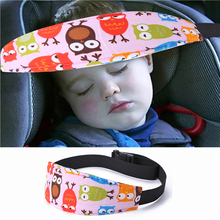 Child Sleep Napping Head Fixation Belt Traveling Cartoon Band Safety Positioner Headband Support Holder Sleeping Belt