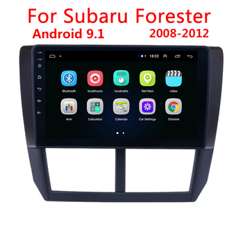 9 Inch 2din Android 9.1 Car Radio For Subaru Forester 2008 2009 2010 2011 2012 GPS Audio Head Unit Multimedia Player WIFI image