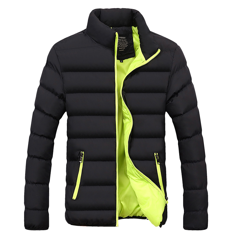 Winter Jacket Men Clothes 2020 Solid Colors Ultra-light Parka Mens Jackets And Coats Stand Collar Bubble Coat Puffer Jackets