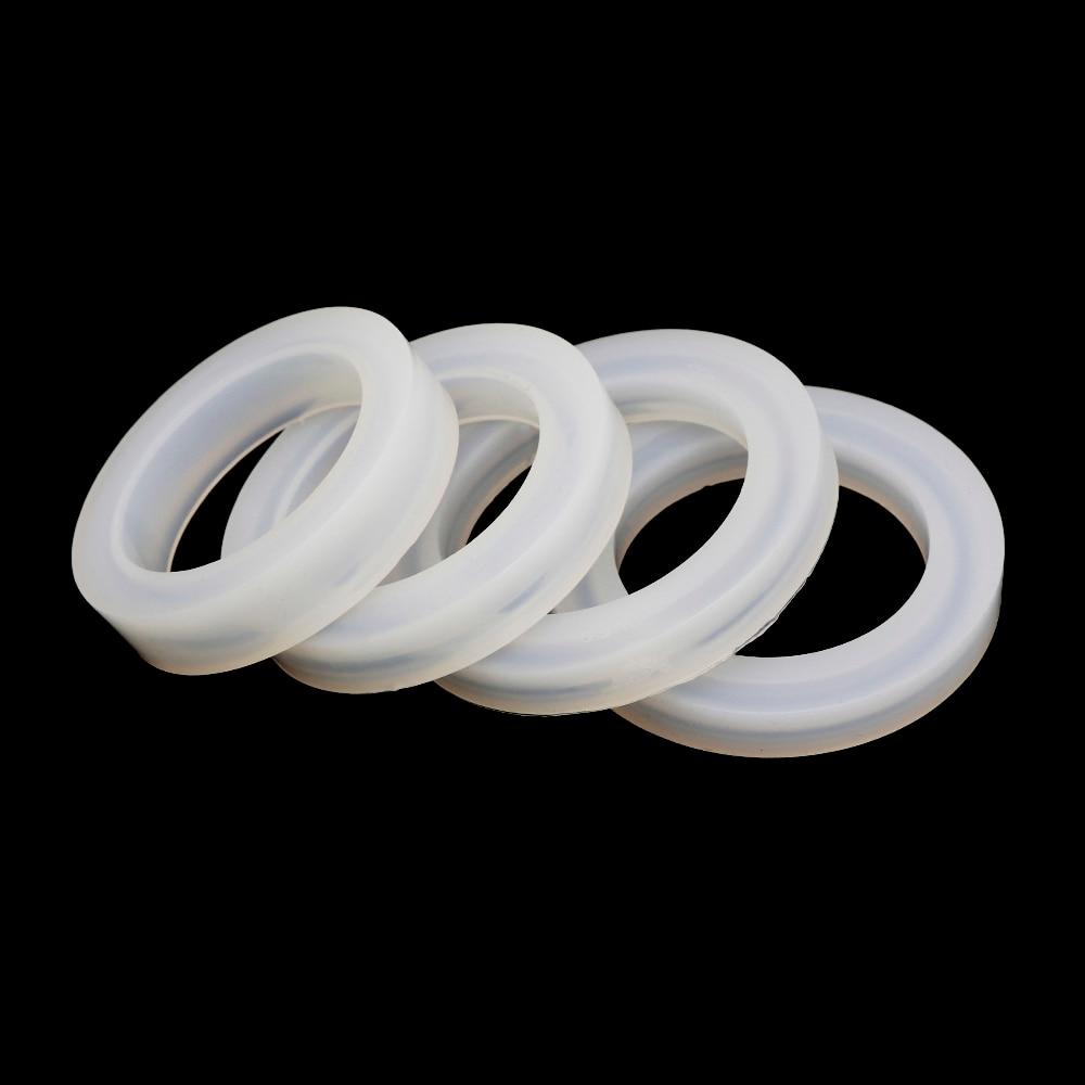 シリコーン樹脂金型 diy クラフト 4 スタイルブレスレット金型エポキシ樹脂モールドジュエリーツール