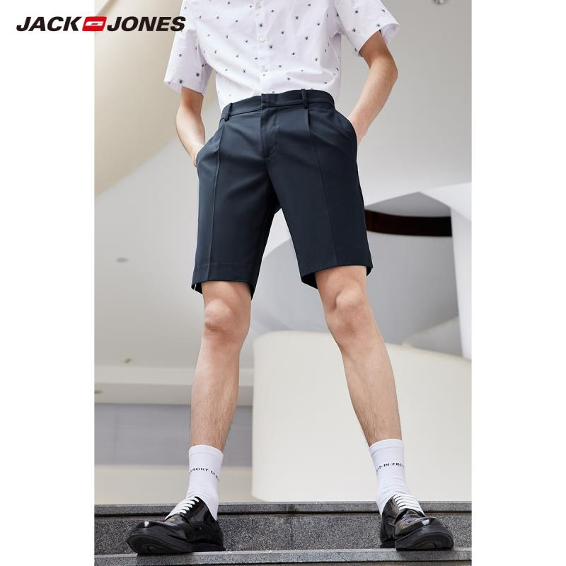 JackJones New Arrival Men's Fashion Business Casual Knee-high Shorts Menswear| 219115507