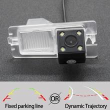 Фиксированная или динамическая траектория камера заднего вида для SsangYong Ssang Yong Rexton Kyron Korando Actyon Rodius автомобильные аксессуары для парковки