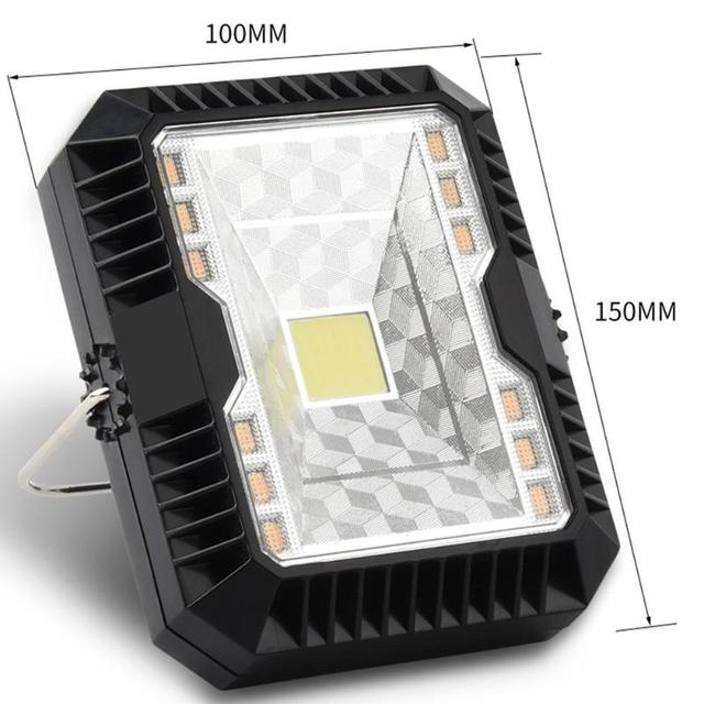 Portable Lantern Camping Light USB Solar Charging Flashlight Camping Tent Light Outdoor Portable Hanging Lamp Solar LED Lantern 6