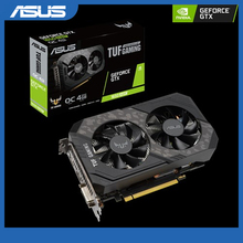 Gaming Asus TUF GeForce®GTX 1650 SUPER SUPER SUPER™Carte graphique Gaming Edition OC 4 go GDDR6, HDMI, DP, DVI \u0028TUF-GTX1650S-O4G-GAMING\u0029