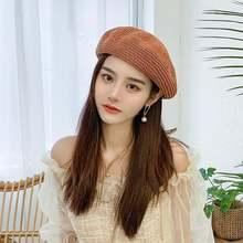 Берет для женщин fedoras женская шапка Кепка с козырьком женские