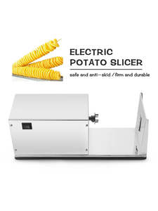 ITOP Slicer-Cutter French Vegetable-Fruit-Tools Potato Spiral Electric-Twister Tornado