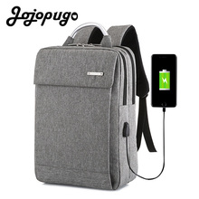 Jojopugo 2020 Fashion Korean Laptop Backpack Men 15.6 inch Men Backpack Business Bag Unisex Back Pack #B0005