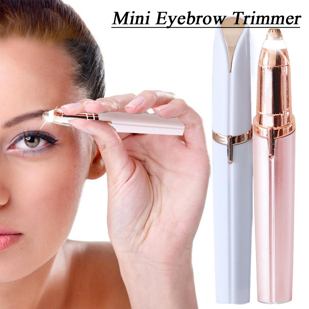 Mini Eyebrow Trimmer Ear Brow Face Trimmer Face Care Portable Shaver Razor Epilator