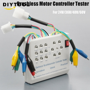 24V/36V/48V/60V/72V Electro Car E-bike Scooter Brushless Motor Controller Tester