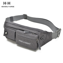 Waist bags for Outdoors  Hip Bag Fanny Packs Male Men Waist Bag Pack Casual Functional Money Phone Belt Bag