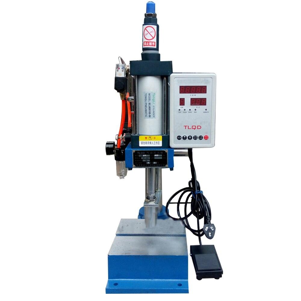 220V DT-100 Manual Pneumatic Press ...