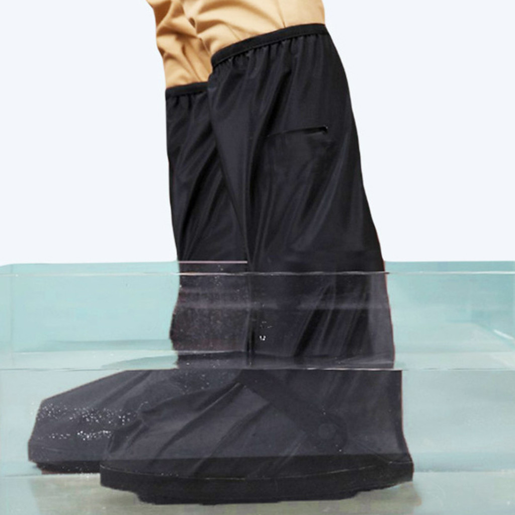 Waterproof High Top Shoe Protector to Cover Shoes in Rainy Days and Prevent Shoes from Mud and Dust Suitable for Outdoor Walking