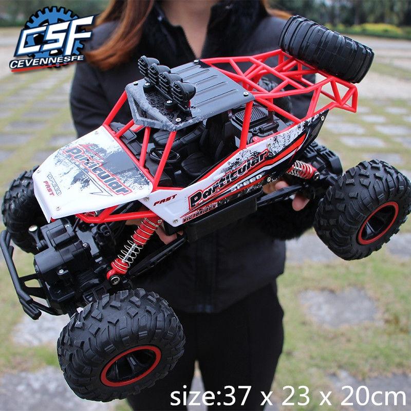 2020 NEW High speed Trucks 1:12 4WD 2.4G Radio Control RC Car remote control car Off-Road Trucks boys Toys for Children RC Car(China)