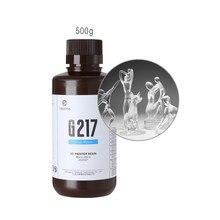 Resione G217-0.5kg dental não amarelando claro líquido de resina uv para lcd sla dlp elegoo phrozen anycúbico resina impressora 3d resina