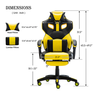 Image 3 - Seatingplus Bumblebee LOL Computer Chair WCG Office Chair Gaming Chair  Game chair Lift Swivel Chair  Comfortable Sedentary