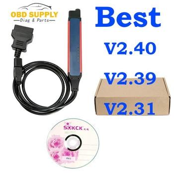 Outil de Diagnostic de camion Vci3 V2.40.1 | 2019 dernier outil de Diagnostic de camion Vci3 SDP3 2.39 2.40 VCI3 OBD2 connecteur VCI3 Wifi sans fil