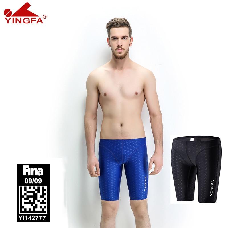 Yingfa 9205 fina aprovado homens meninos nadar briefs sharkskin roupa de banho dos homens terno competitivo maiô de corrida maiôs profissional|Body Suits|   -