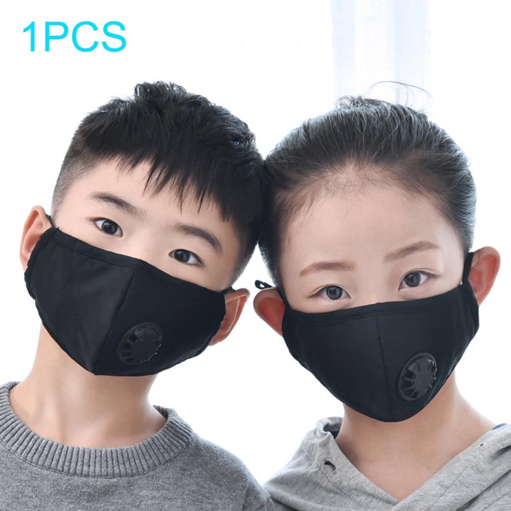 1pcs Kids Mouth Mask /10pcs Mask filter Washable Face Mask Prevent Dust PM2.5 Pollution  Activated Carbon Reusable Mouth Cover