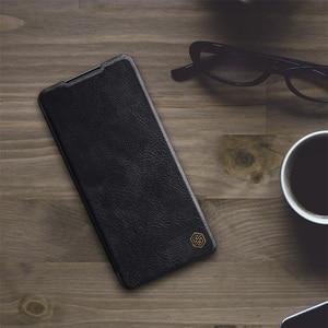 Image 2 - لسامسونج غالاكسي Samsung Galaxy S21 الوجه الحال S21 Plus زائد S21 Ultra الترا غطاء Nillkin تشين جلدية الوجه غطاء بطاقة جيب كتاب الحال بالنسبة لسامسونج Samsung S21 +