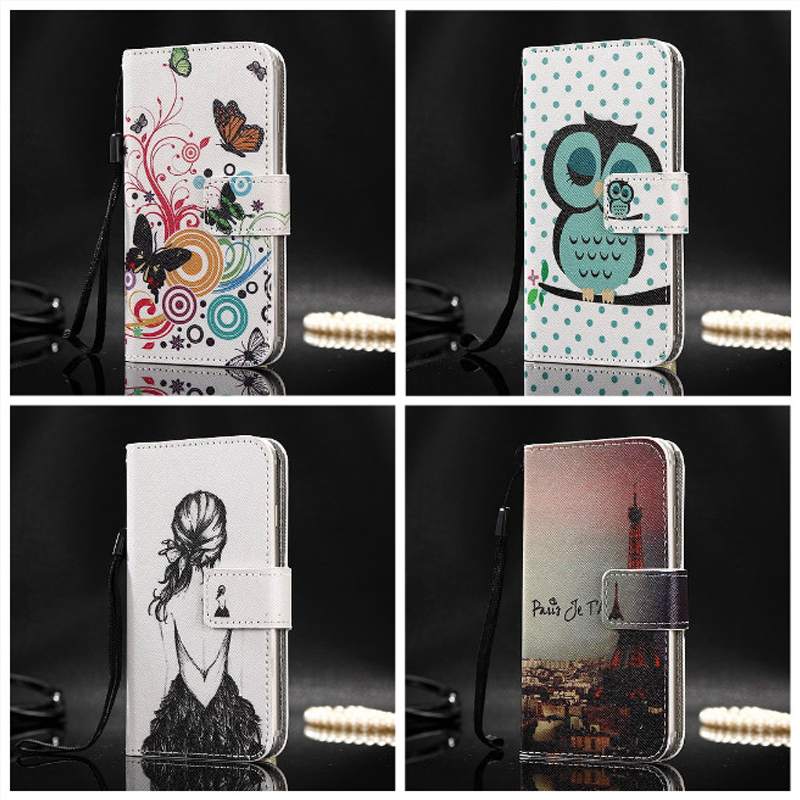 TCL 10 Pro Lovely Leather Flip Book Cover Oppo Ace2 UMIDIGI S5 Pro Vivo Y50 TCL 10L Case Phone Protective Card Holder Funda Case