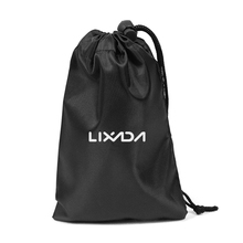 Lixada 15x20cm Storage Pouch Drawstring Carry Bag Organize Pack for Fitness Work out Yoga Home Office