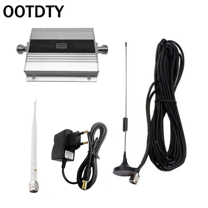 OOTDTY 900Mhz GSM 2G/3G/4G Signal Booster Repeater Amplifier Antenna For Mobile Phone