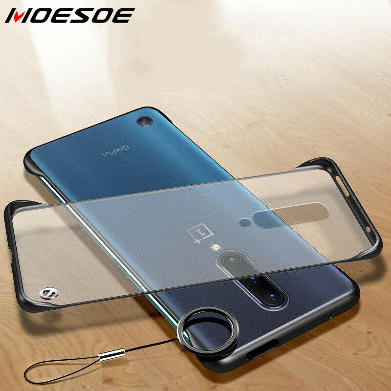 Frameless <font><b>Case</b></font> For OnePlus 7 Pro <font><b>6</b></font> 6t Clear Hard <font><b>Case</b></font> For <font><b>One</b></font> <font><b>Plus</b></font> 7pro <font><b>6</b></font> t Protection Scrub Matte 1+ 7 <font><b>Phone</b></font> Back Cover Coque image