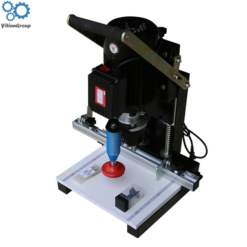 1.1kw Multi-function DIY Tool Woodworking Hinge Drilling Machine Portable Cutting Machine Three-in-one CNC Drilling Machine