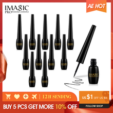 IMAGIC New Set Liquid Eyeliner Professional Long Lasting Waterproof Eye line  Black Eye Liner  Makeup Cosmetics Tools