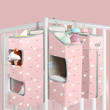Orzbow Baby Bedding Organizer Bed Hanging Bags For Newborn Crib Organizer Baby Care Diaper Storage Bags for kids bed set(China)