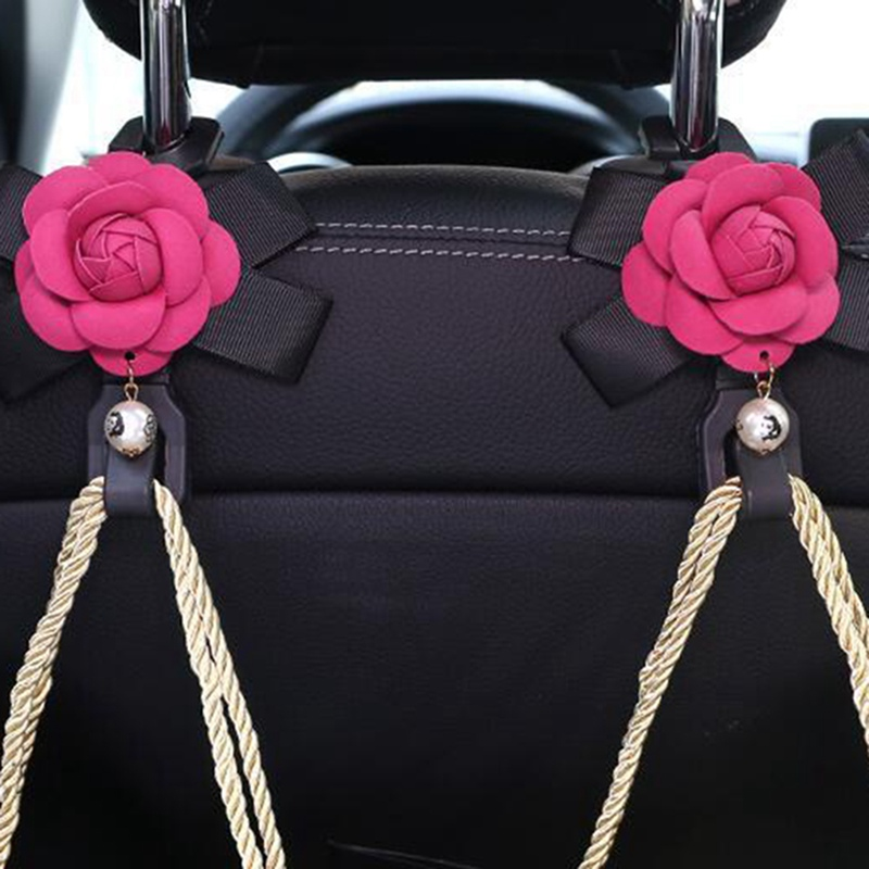 Camellia автомобильный крючок креативная спинка стула многофункциональный автомобильный крюк спинка автомобиля крюк для хранения сидений