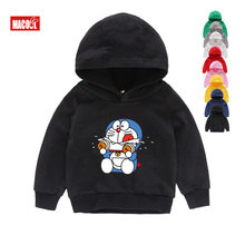 Kids Hoodies Sweatshirts New Doraemon Children Japan Anime 8T Autumn Long Sleeves Tops Girl and Boy