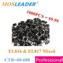 EL816 EL817 SOP4 1000 قطعة CTR = 60 600 EL816A/B/C/D EL817A/B/C/D استبدال PC816 PC817 السائبة الجديدة لا في الشريط نوعية جيدة