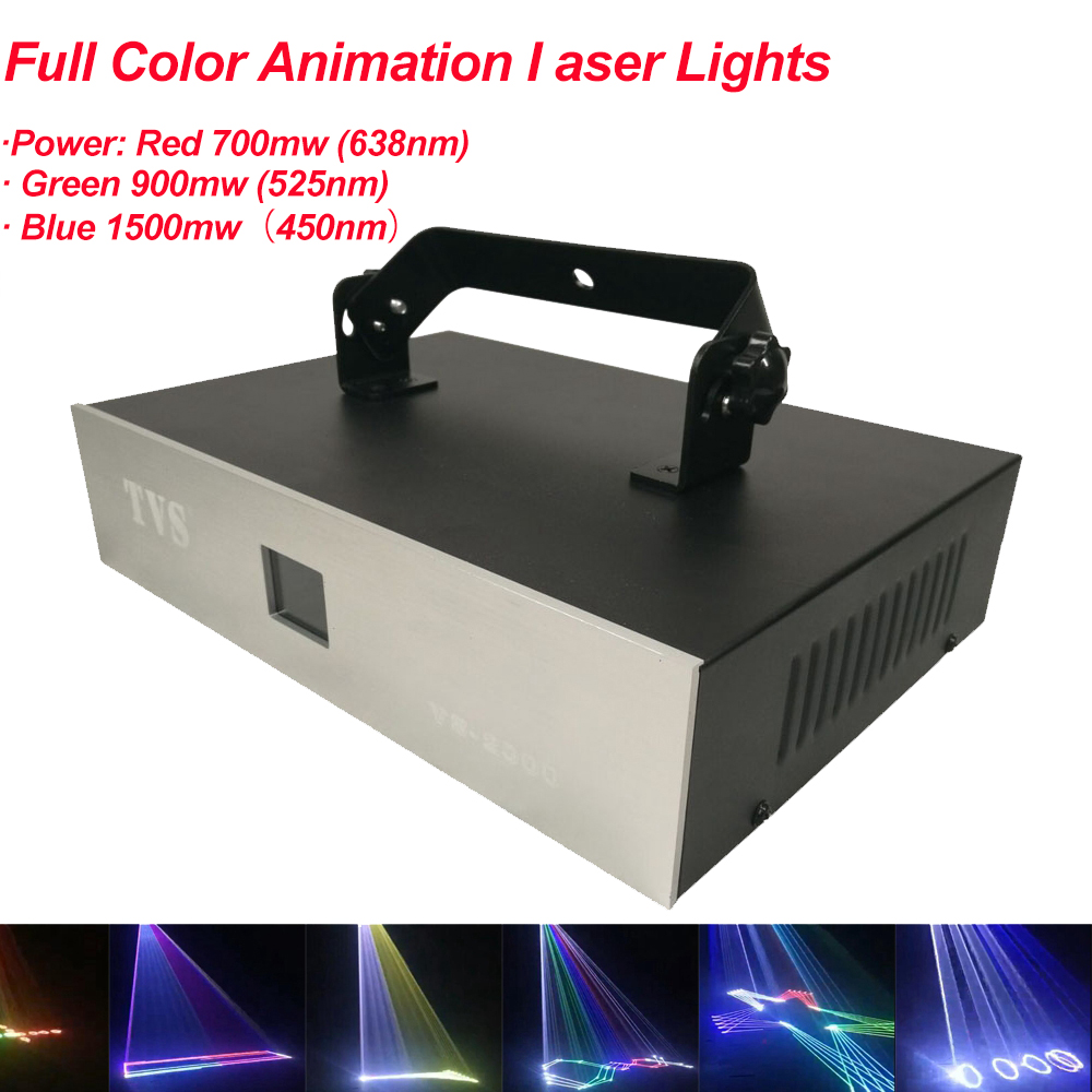 Disco Stage Light Sound DMX 3W LED DJ Light Auto-run Active Laser Projector With Controller For Family Party Bar Night Light