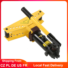 Pipe Tube Bender Hydraulic Pipe Bender Hydraulic Cylinder Manual Pipe Bender with 4 pcs Bending Formers 3/8 1/2 3/4 1 inch
