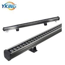 1M Aluminum IP65 110V 36W dmx control RGB china led wall washer linear ip65 ce good quality high power 36w rgb led wall washer rgb led wash light 12 3w rgb 3in1 24vdc ds t21a 36w rgb 50cm pc