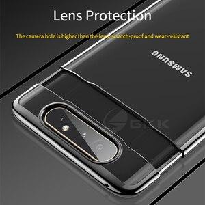 Image 5 - GKK Cassa Di Lusso Originale per Samsung A80 Trasparente Placcatura Protezione Completa Caso Duro Della Copertura per Samsung Galaxy A80 Coque Fundas