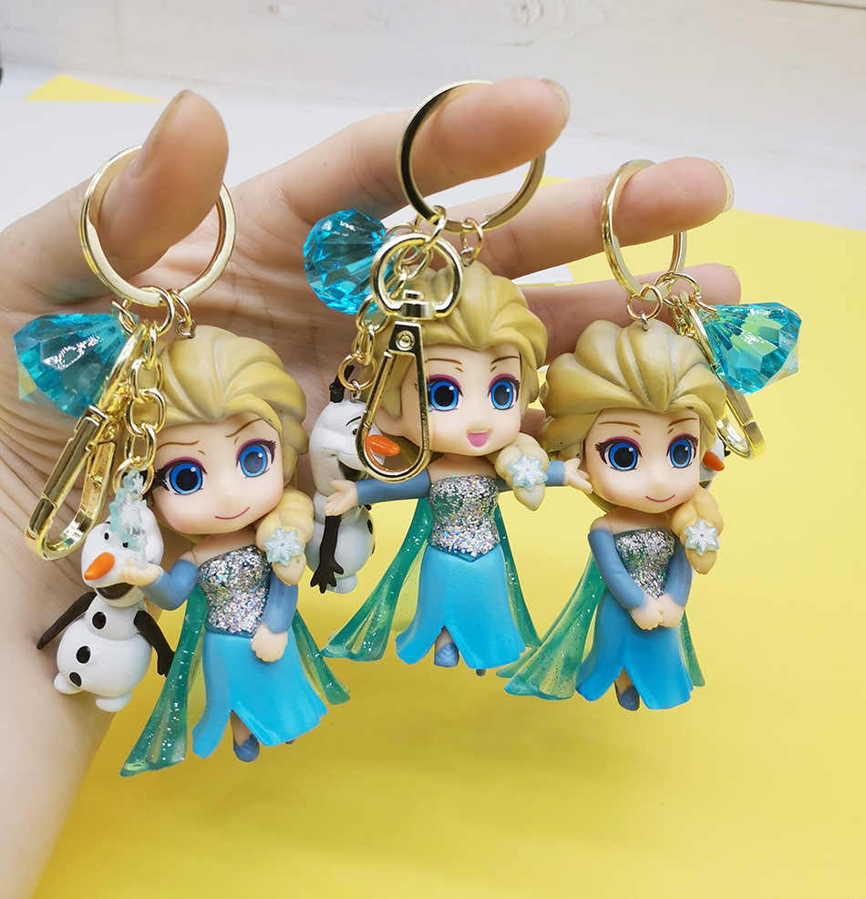 Belle Beauty and the Beast Keyring or Bag Charm Gift Princess Yellow Bow Cute