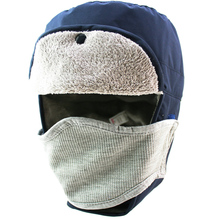 Waterproof Hat Winter Warm Earmuffs  Bomber Hat With Mask Men's Trapper Hat Hunting Hat Outdoor Ushanka Hat Lumberjack Hat
