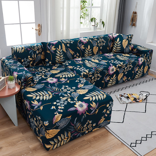 Цветочный чехлов диван Чехол универсальный эластичный чехол