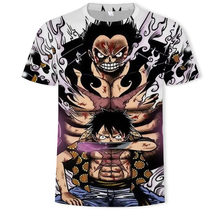 Luffy One Piece T-shirts Men/Women 2019 New Fashion Hip Hop