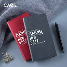 2020 Agenda Portable A6 Weekly Calendar Notebook schedule Manual Planner Diary Plan Organizer School Supplies Office Stationary
