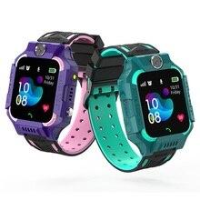 S19 مقاوم للماء ساعة ذكية للأطفال LBS المقتفي SmartWatch SOS دعوة للأطفال مكافحة خسر رصد الطفل ساعة اليد للبنين بنات