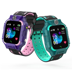 Image 1 - S19 Waterproof Smart Watch for Kids LBS Tracker SmartWatch SOS Call for Children Anti Lost Monitor Baby Wristwatch for Boy girls