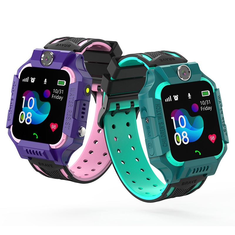 S19 Waterproof Smart Watch for Kids LBS Tracker <font><b>SmartWatch</b></font> SOS Call for Children Anti Lost Monitor Baby Wristwatch for Boy girls image