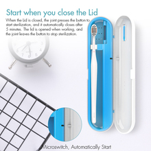 Organizer Sterilization-Box Disinfectant Portable Toothbrush for Kids And Family Fit-Storage
