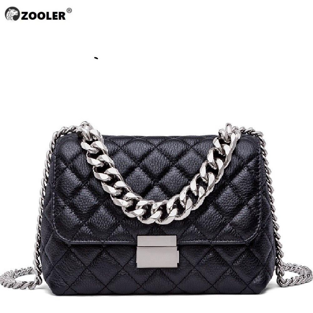 Top! zooler 새로운 어깨 가방 유형 여성 유명 브랜드 2019 정품 가죽 가방 여성 메신저 가방 지갑 bolsa feminina b250-에서탑 핸드백부터 수화물 & 가방 의  그룹 1