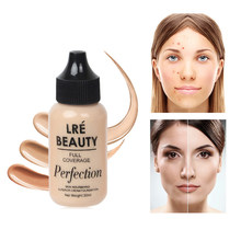 30ml Liquid Foundation Matte Long Lasting Oil-control Concealer Brighten Moisturizing Foundation Cream Facial Base Cream TSLM2(China)