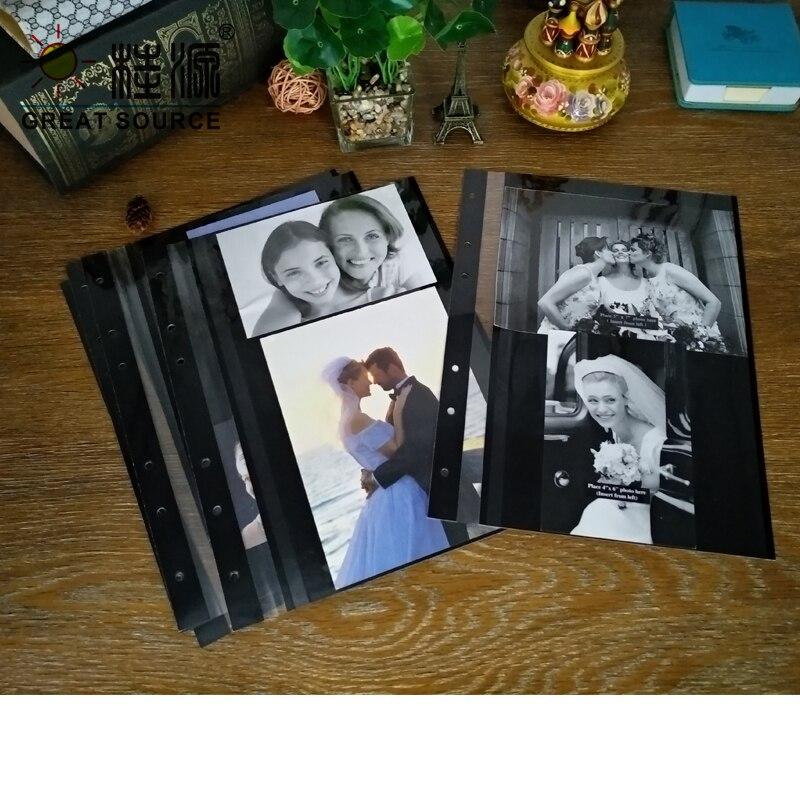 Adhesive Photo Album Leaf 8R Photo Leaf W23*30cm(9.055