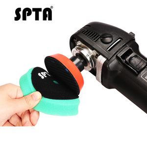 "Image 5 - SPTA 3.5""(90mm)/6""(150mm)/ Car Spong Polishing Pads &Buffing Pads For DA/RO/GA 3""(80mm)/5""(125mm) Car Polisher"